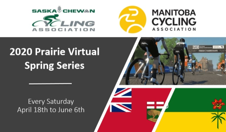 2020 Prairie Virtual Spring Race Series.  Series Schedule, Links to Race Bibles & Results