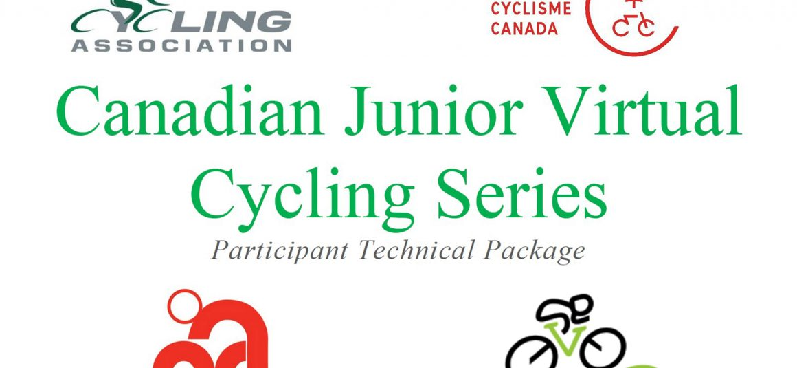 Canadian Junior Virtual Cycling Series